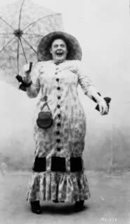Retrospettiva Funny Ladies: Marie Dressler — Photograph credits: The Kobal Collection, Le Giornate del Cinema Muto 2002
