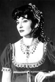 Maria Callas nelle vesti di Tosca