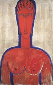 Grande busto rosso