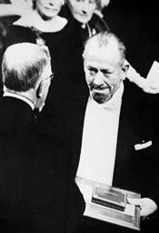 John Steinbeck riceve il Nobel, 1962