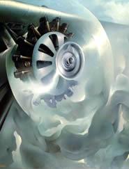 Motore seduttore di nuvole, 1939