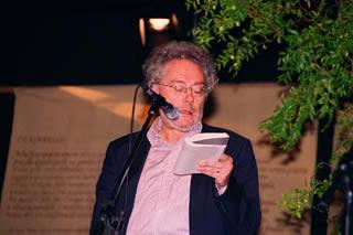 Maurizio Cucchi a Parco Poesia