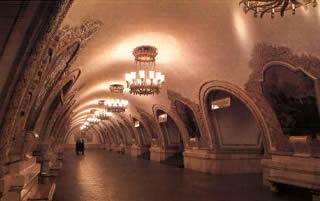 Mosca stazione Kievskaja