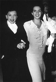 Liza Minnelli e Judy Garland