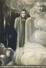 Brunetto Latini profetizza l'esilio di Dante (Inferno, XV), 1901