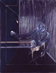 Francis Bacon, Scimpanzè, 1955