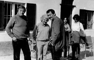 Lauzi con Felice Andreasi e Paolo Conte