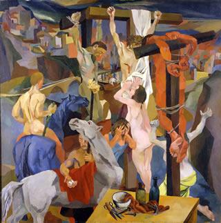 Renato Guttuso, Crocifissione, 1941