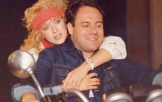Eleonora Giorgi e Carlo Verdone in Borotalco