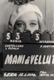 Eleonora Giorgi sul set di Mani di velluto