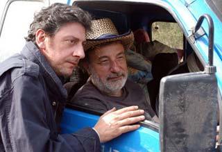 Sergio Castellitto e Gianni Amelio