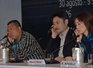 Ichise Taka, Kiyoshi Kurosawa and Riona Hazuki