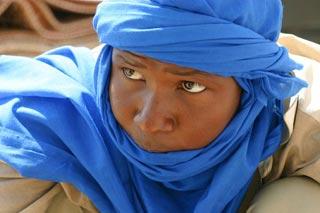 ragazzo tuareg
