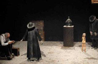 Scena dello spettacolo Beckett Box