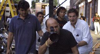 Ferzan Ozpetek durante le riprese