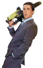 Patrick Bateman, protagonista di America Psycho