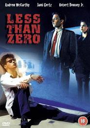 Locandina del film Less than zero
