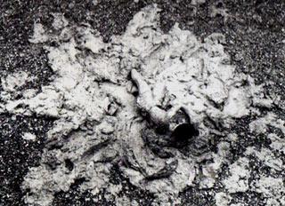 Kazuo Shiraga, Challengin Mud