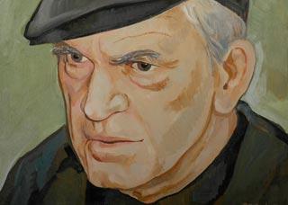 Ritratto di Milan Kundera