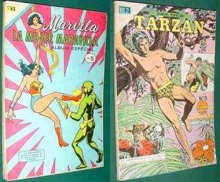 Mulher Maravilha e Tarzan