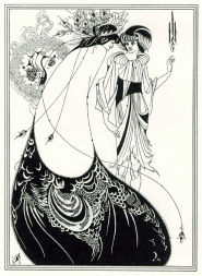 "Illustrazione per ""Salomè"" di Wilde"