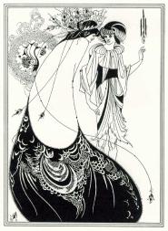 "Illustrazione per ""Salomè"" di Wilde"