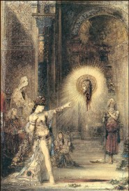 Gustave Moreau - Aquarelle, l'apparition