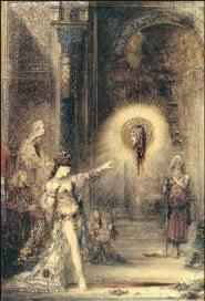 Gustave Moreau - Aquarelle, l'apparition