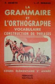 Grammaire et orthographe française