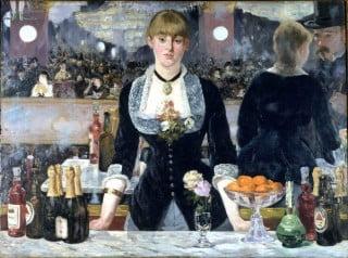 Un bar delle Folies-Bergères di Édouard Manet