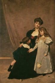 Marie-Anne Feydeau et ses enfants, Carolus-Duran