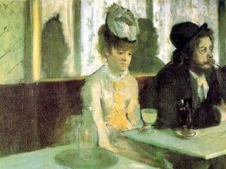 L'assenzio di Édgar Degas