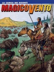 Copertina di Corrado Mastantuono del numero 92 – La carica dei bisonti - Febbraio 2005