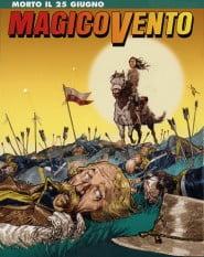 Copertina di Corrado Mastantuono del numero 99 - Morto il 25 giugno - Settembre 2005