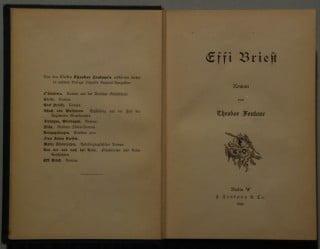 Il romanzo Effi Briest