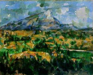 Cézanne - La montagna Sainte-Victoire