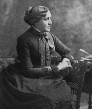 Ritratto di Louisa May Alcott