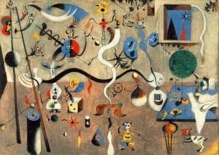 Il carnevale di Arlecchino di Joan Miró