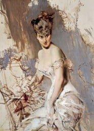 """copertina del libro, quadro """"Ritratto di Alice Regnault"""" di Giovanni Boldini"""