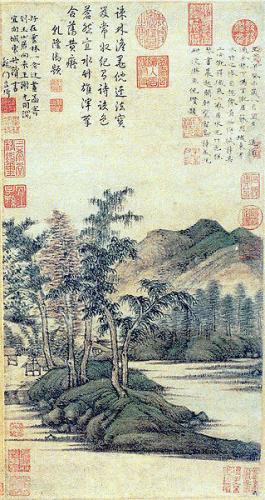 Ni Zan, Dimora di acqua e bambù