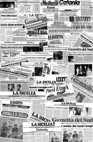 Collage di giornali
