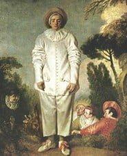 Gilles (Pierrot) di Jean-Antoine Watteau