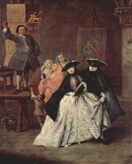 Les charlatans di Pietro Longhi