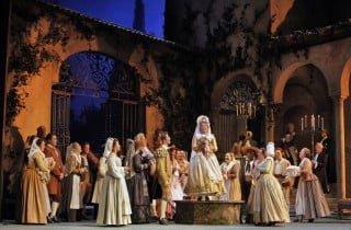 Foto di scena da Le nozze di Figaro