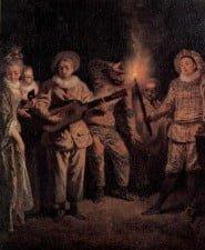 L'amour au Théâtre Italien di Jean-Antoine Watteau