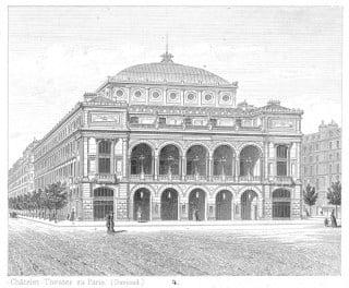Théâtre du Chatelet di Gabriel Davioud