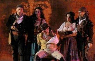 Carmen 2010 | Atto II - Remendado (Luca Casalin) Mercedes (Cristina Melis) Zuniga (Manrico Signorini) Frasquita (Carla Di Censo) Dancairo (Fabio Previati)