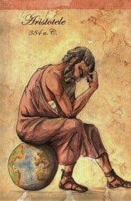 Disegno di Aristotele