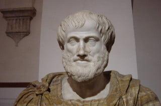 Busto di Aristotele