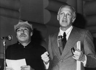 Raimondo Vianello e Ugo Tognazzi